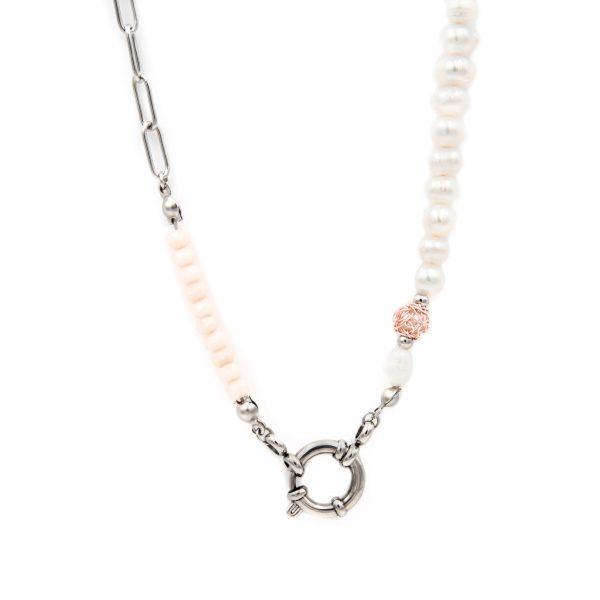 colar BG_008 rosa