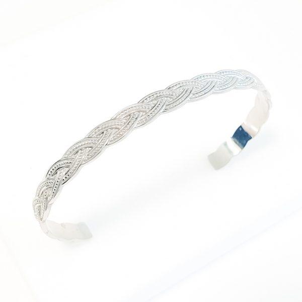 pulseira aço braid