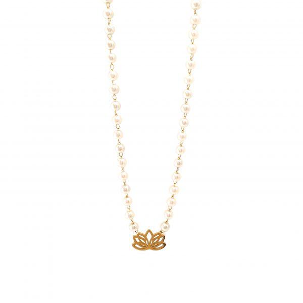 colar flor de lotus gold